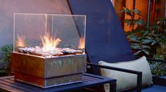Drop Everything And Make This DIY Personal Fireplace Now