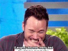 The only one who make me smile - Chris Pratt