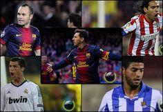 5 Pemain Sepakbola La Liga terbaik Sejauh ini