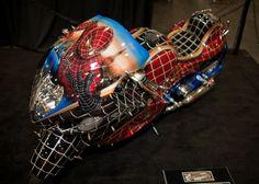 Spiderman » motorcycle