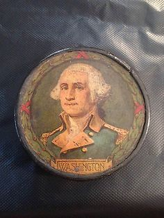 antique americana george washington papier mache snuff box / tobacco box on Ebay right now 11.april.2014! Amazing opportunity to own a piece of history!