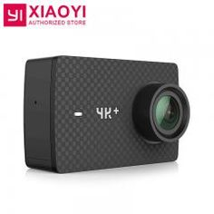 "[ $34 OFF ] International Edition Yi 4K Plus Action Camera Ambarella H2 4K/60Fps 12Mp 155 Degree 2.19"" Raw Xiaoyi 4K+ Sports Action Camera"