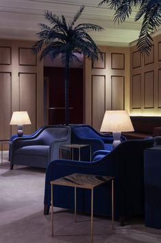Selfridges International Customer Services Luxury Lounge by Waldo Works // London. Hotel Lounge, Bar Lounge, Lounge Areas, Lounge Design, Interior Neoclásico, Interior Architecture, Interior Design, Commercial Design, Commercial Interiors