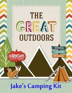 Digital Designs Scrapbooking: Camping fun