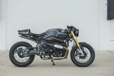 Real world custom: Tweaking the R nineT with Analog Motorcycles.