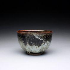 ceramic bowl handmade soup bowl with black by rmoralespottery. Etsy.