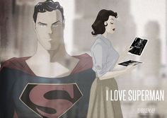 I Love Superman by DESPOP.deviantart.com on @DeviantArt