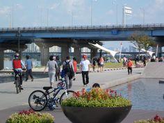 Korea River Park in Yeouido