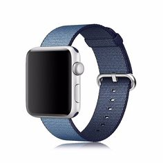 Nylon Watch Band Strap For Apple Sport 42mm 38mm Woven Wrist Royal Series 1 2  #NylonWatch