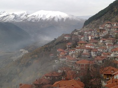 Metsovo, Greece - Maybe stay with my uncle? Places Around The World, The Places Youll Go, Places To Visit, Around The Worlds, Greece Vacation, Greece Travel, Greece Time, Beautiful Islands, Beautiful Places