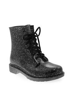 Shoes | Rain Boots | Transparent Glitter Rubber Boots | Hudson's Bay $75