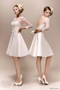 Elegant And Fashionable Wedding Gowns By Max Chaoul | Weddingomania