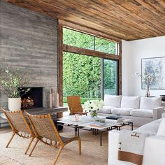 Walls and ceiling treatment