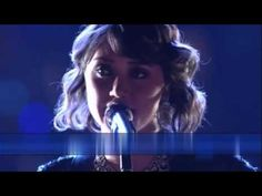 I love this girl's voice and the way she sings this song.