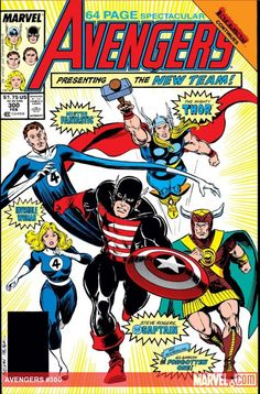 The Avengers - perhaps the oddest line-up ever.