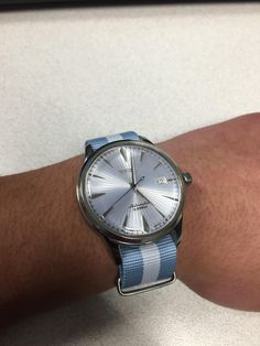 [Seiko] Cocktail Time SARB065 on Baby Blue NATO http://ift.tt/2r2gcYf