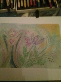 Een van mijn tekeningen