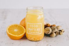 ORANGE, TURMERIC, GINGER WATER KEFIR - Looking for a healthy alternative to soda pop? Try our Orange, Turmeric & Ginger Kefir! This fizzy, zingy, and a little sweet water kefir is an incredibly refreshing, and healthy, swap to soda!