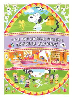 It's The Easter Beagle, Charlie Brown. by Weidel