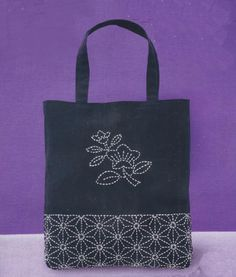 Le sashiko sac Kit japonais traditionnel couture/piquage du