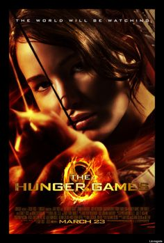 "The official poster for ""The Hunger Games."""