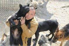 Wang Yan used his fortune to buy out a dog slaughterhouse so he could set up a shelter for strays dogs instead, saving 2,000 canines in the process.