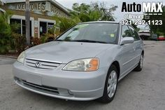 This car is in excellent condition! It drives really smooth, like you're floating on a cloud! The CD stereo will keep the music going during your daily commute! The cruise control takes all the effort out of those long drives. The seats adjust electronically for maximum comfort! The sunroof opens to allow you to enjoy all the beautiful Florida weather! With 4 doors and a spacious trunk, there is plenty of room for the whole family and all your stuff! ALL PRICES ARE CASH PRICES UNLESS STATED…