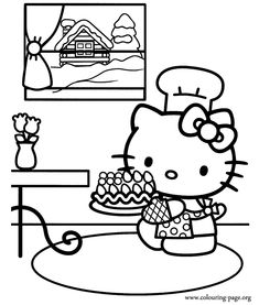 coloring sheets hello kitty coloring pages Fun ideas for the