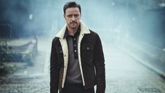 """xmensource: """" James McAvoy photographed by Boo George for Mr Porter, January """" James Mcavoy 2017, James Mcavoy Interview, James Mcavoy Michael Fassbender, James Mccoy, Mr. Porter, Anne Marie Duff, Bae, Becoming Jane, Actor James"""