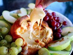 Baked camembert in flaky puff pastry? It might be filthier than the brownies. Get the recipe from The Londoner.   - Delish.com
