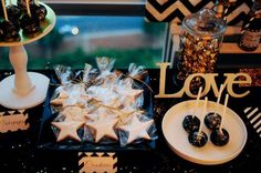 2015 New Year's party treats! See more party planning ideas at CatchMyParty.com!