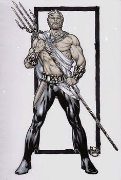 noahbodie: Aquaman rediseñado por Paulo Siqueira