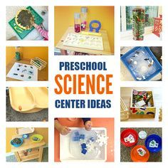 Preschool Science Center - Science Activities For 3-year-olds - No Time For Flash Cards