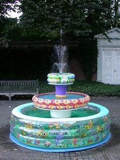 Ghetto yard fountain