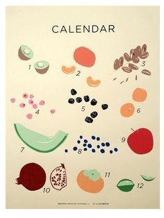 fruit calendar