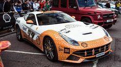 My Dream Car, Dream Cars, Rallye Automobile, Ferrari 2017, Gumball 3000, F12 Berlinetta, Car Painting, Car Car, Fast Cars