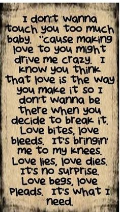 Def Leppard Song Lyrics   Def Leppard - Love Bites