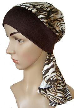 Chemomütze, Schlauch-Beanie, Chemo-Kopfbedeckung von head-fashion auf DaWanda.com