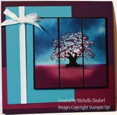 Tree of a Different Color – Stampin' Up! Card
