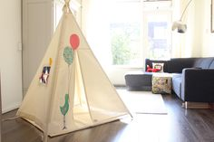 Kids Teepee tent original design by moozle moozlehome.com since 2007 copyright of Moozle