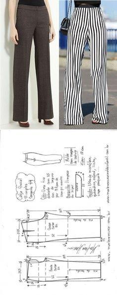 Pantalon recto. Talla 44 de marlenemukai.com.br