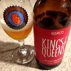 Barco Kings & Queens (5,8% / Strong Pale Ale / Porto Alegre - Brasil) #cerveja #beer