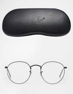 Image 2 of Ray-Ban Round Metal Glasses Óculos Masculino, Armações De Óculos, be5300f813