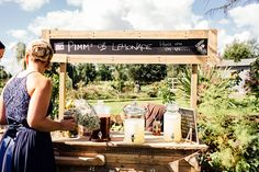 Drinks Stand Station Bar Home Made Rustic Eclectic Wedding http://www.frecklephotography.co.uk/