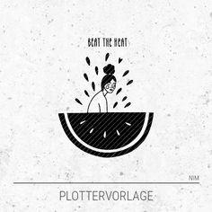 Wassermelone - Beat the Heat - Näh ich mir!