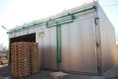 Wooden pallet drying equipment according to ISPM15. Echipament uscare paleti din lemn, ispm15.  EUR raklap hőkezelő, fa csomagolóanyag szárító berendezés, hőkezelő kamra eur palettek számára.