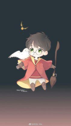 Howard Harry Potter Chibi Boy Anime Chibi Harry Potter Anime