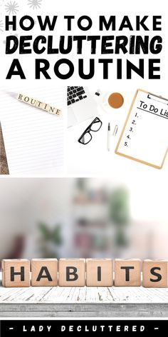 Instead of stressing over one long decluttering session a year, learn how to manage clutter all year. Develop a new decluttering routine that will change the way you declutter forever. #ladydecluttered #declutterinspiration #declutterroutine #declutteringhabits #howtodeclutteryourhome Organising Hacks, Decluttering Ideas, Organisation Hacks, Life Organization, Declutter Your Mind, Organize Your Life, Get Your Life, Best Blogs, Staying Organized