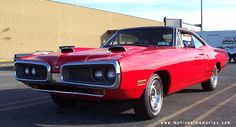 1970 Dodge Super Bee red