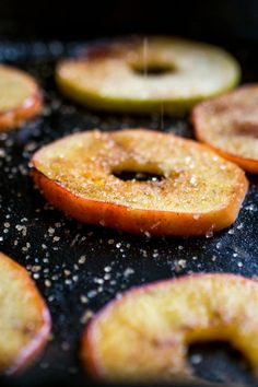 """NYT Cooking: I came across this utterly simple idea in Deborah Madison's """"Vegetarian Cooking for Everyone."""" She serves hers as a dessert with ice cream, a lovely use for the apples (which she also embellishes with raisins and pine nuts). I think they make a great addition to the Thanksgiving buffet, to go with the turkey along with cranberry sauce. Or serve them with your latkes ..."""